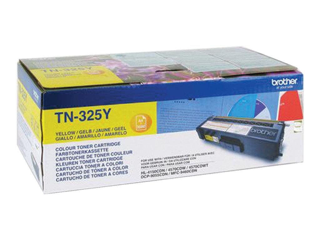 Brother TN325Y - Gelb - Original - Tonerpatrone