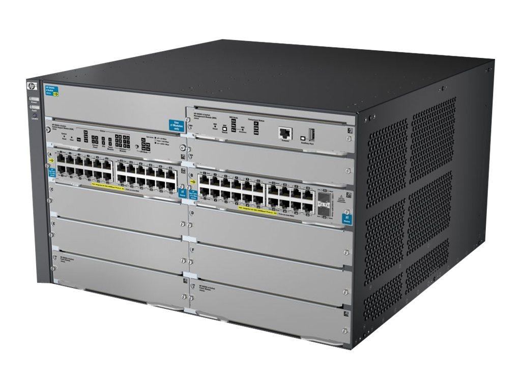 HP 8206-44G-PoE+-2XG v2 zl Switch w Pm SW (J9638A)