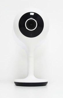 Woox R4024 - IP-Sicherheitskamera - Indoor - Kabellos - Sphärisch - Tisch/Bank - Weiß