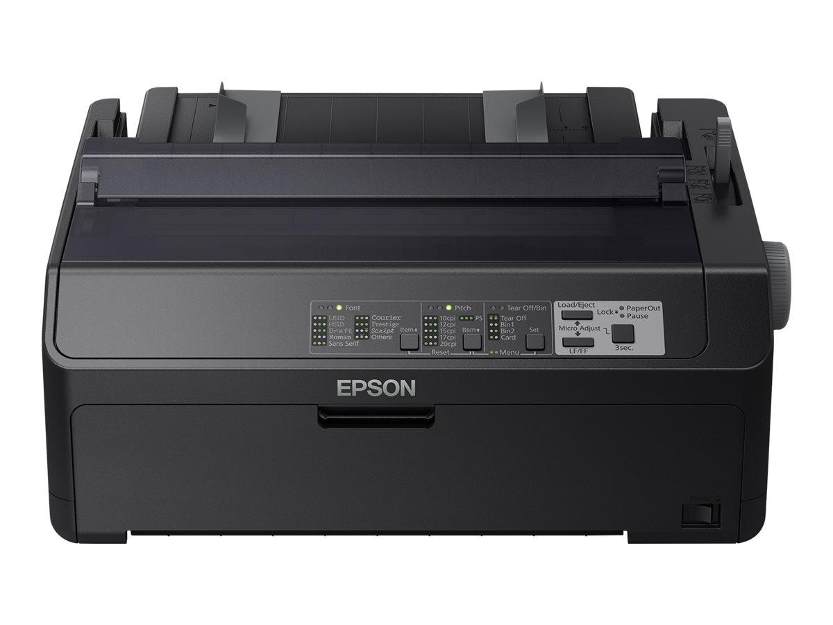 Epson LQ 590II - Drucker - monochrom - Punktmatrix - Rolle (21,6 cm)