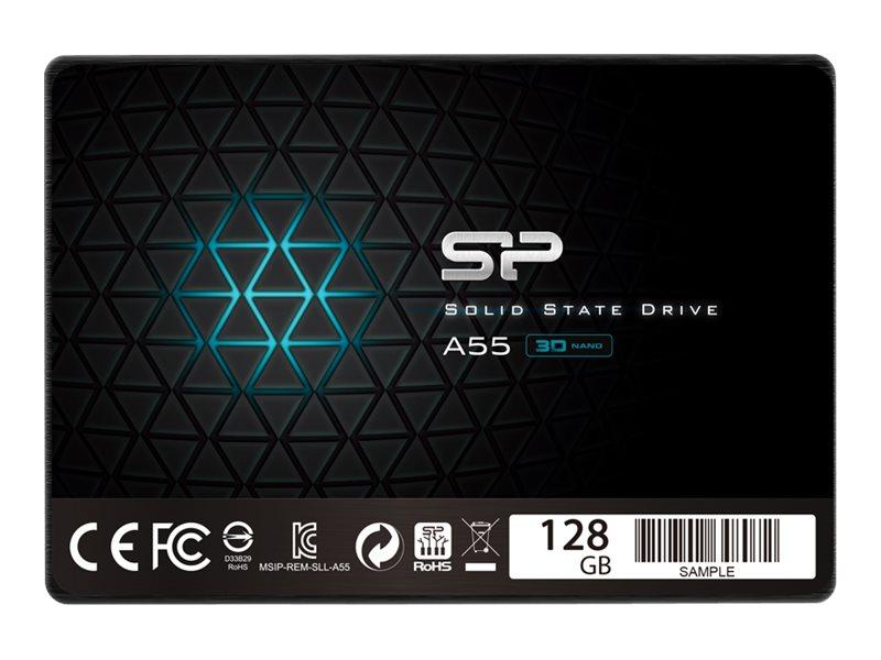 """Silicon Power A55 - 128 GB SSD - intern - 2.5"""" (6.4 cm)"""