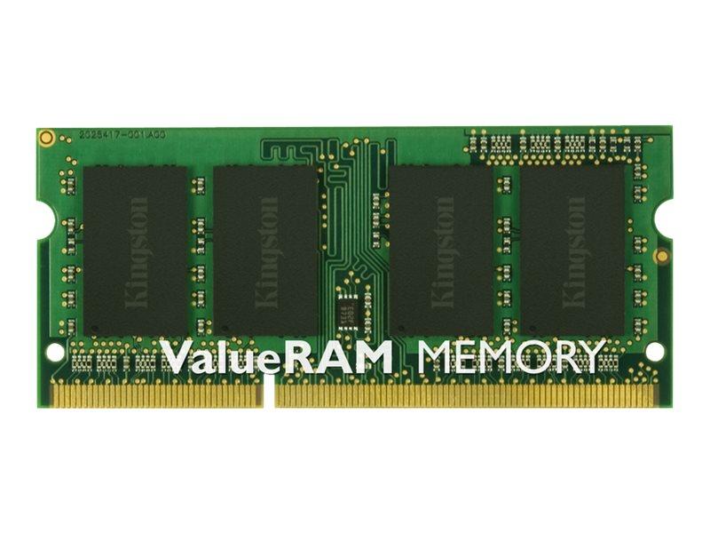 Kingston ValueRAM - DDR3 - Modul - 4 GB - SO DIMM 204-PIN