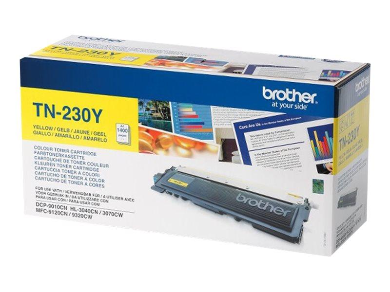 Brother TN230Y - Gelb - Original - Tonerpatrone