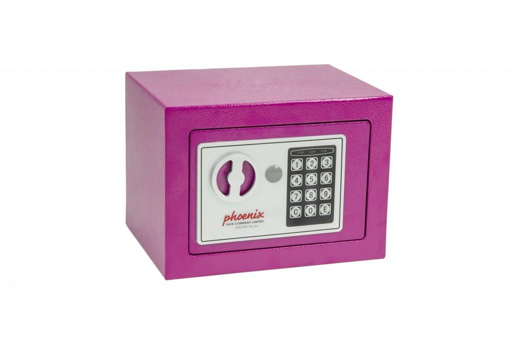 Phoenix Safe Co. SS0721EP - Pink - Flachschlüssel - Stahl - 230 mm - 170 mm - 170 mm