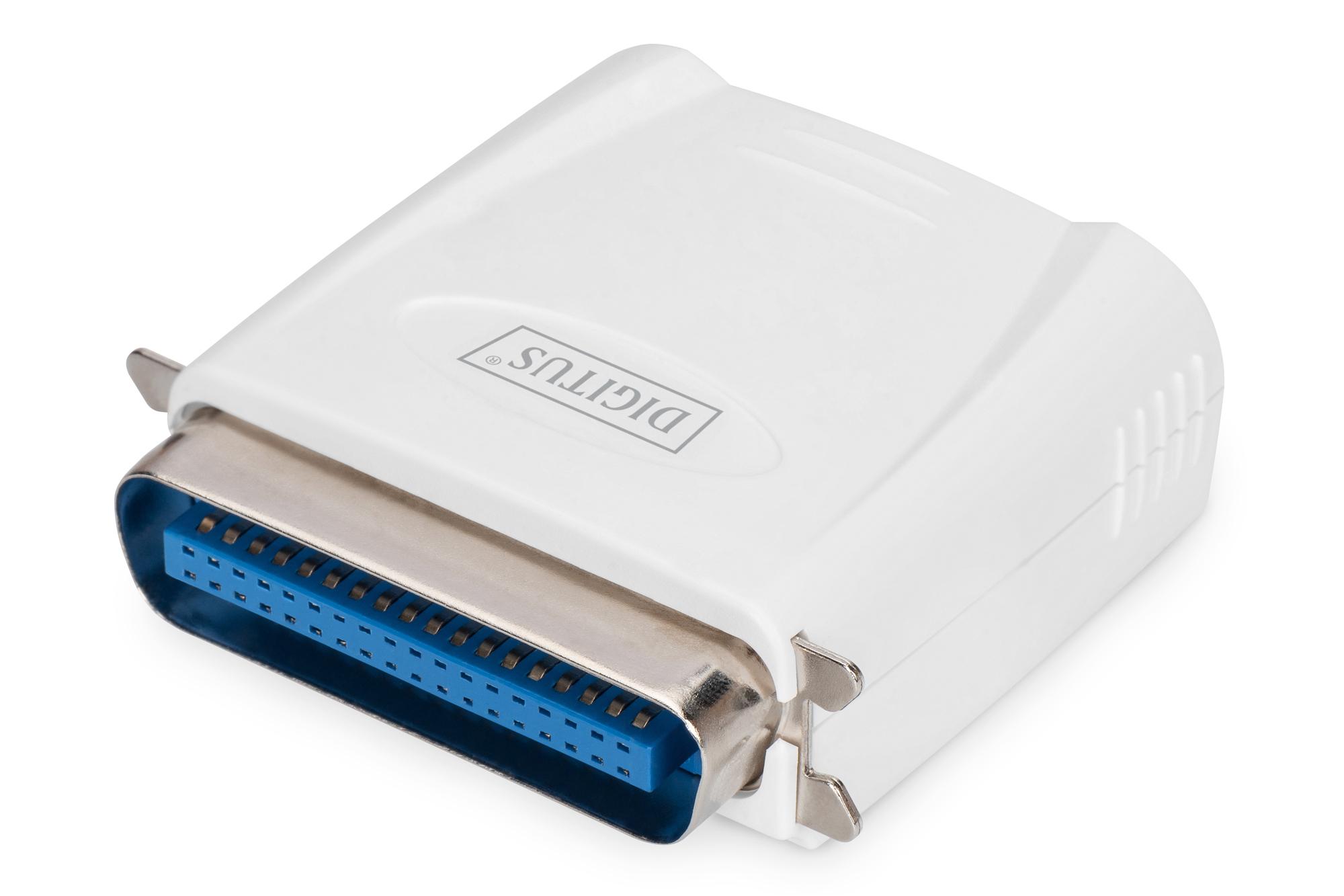 DIGITUS Fast Ethernet Print Server, Parallel