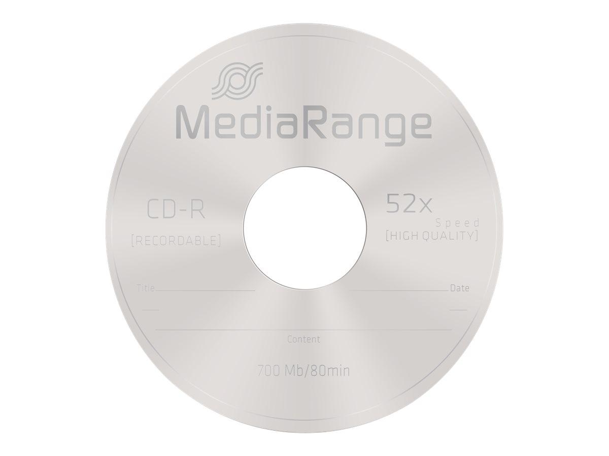 MEDIARANGE 25 x CD-R - 700 MB (80 Min) 52x