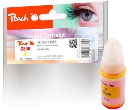 Peach PI100-343 - Compatible - Gelb - Canon - Canon Pixma G 1500 Canon Pixma G 1500 Series Canon Pixma G 1501 Canon Pixma G 1510 Canon Pixma G... - 1 Stück(e) - Standardertrag