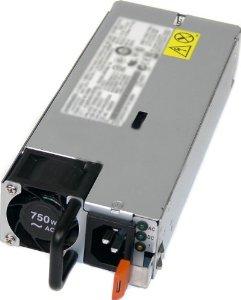 00FK932 750W 2U Schwarz - Silber Netzteil