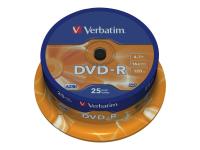 43667 4,7 GB DVD-R 25 Stück(e)