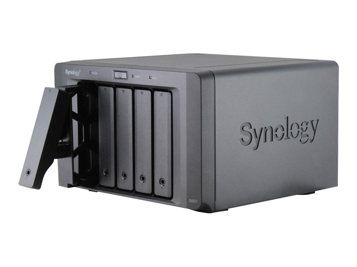 Synology DX517 - Speichergehäuse - 5 Schächte