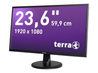 3030029 23.6Zoll Full HD MVA Schwarz Computerbildschirm LED display