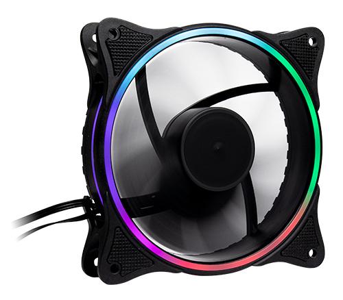 Inter-Tech Zusatzlüfter Fan 120mm RGB für IT-3303 u. IT-3306