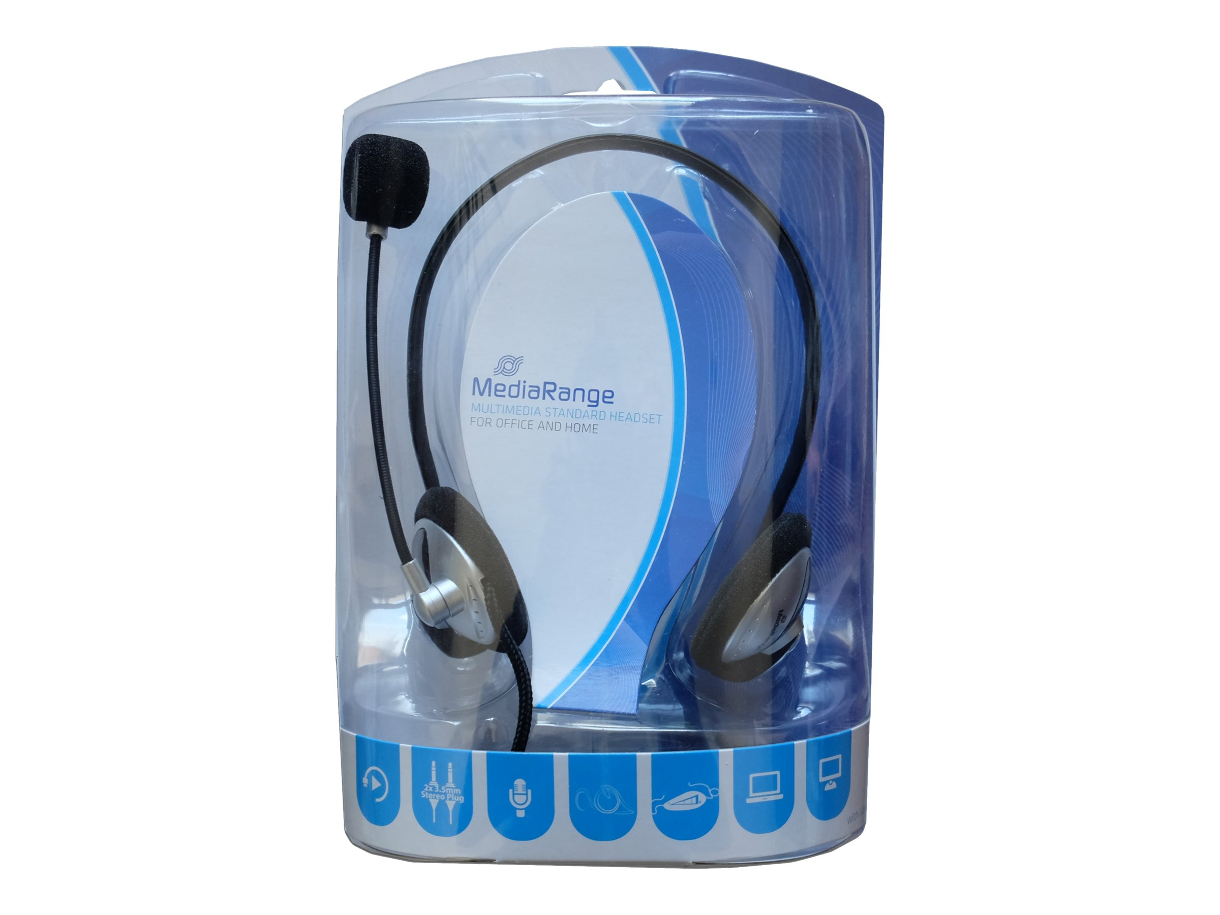 MEDIARANGE MROS302 - Headset - On-Ear