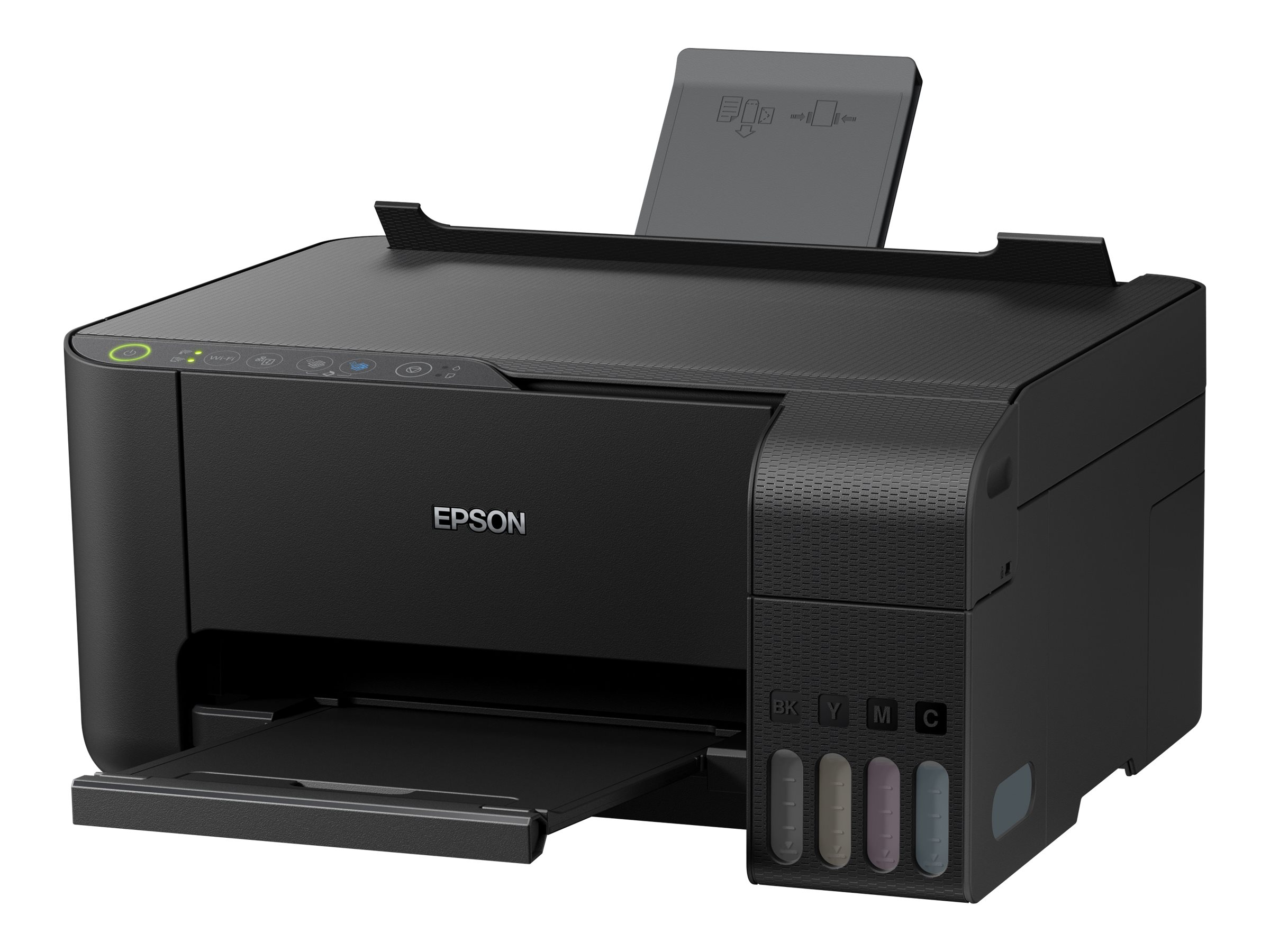 Epson EcoTank ET-2710 - Multifunktionsdrucker - Farbe - Tintenstrahl - refillable - A4/Legal (Medien)
