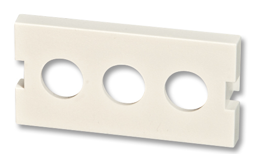 Lindy Modular AV Face Plate System Snap-in Module - Frontabdeckung - weiß