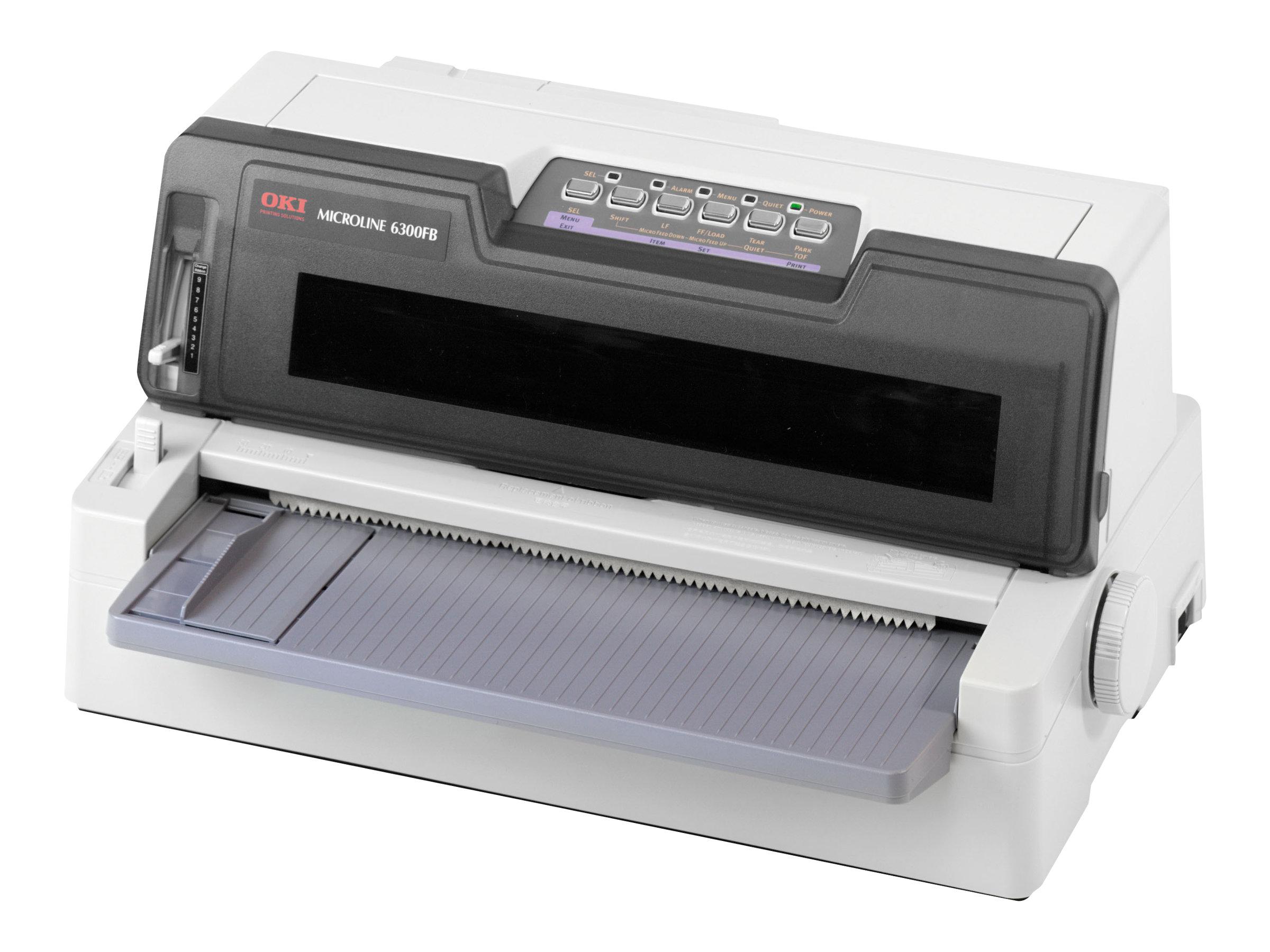 OKI Microline 6300 FB-SC - Drucker - monochrom - Punktmatrix - 304,8 mm (Breite)