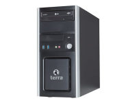 PC-BUSINESS 5050S 3,9 GHz Intel® Core i3 der siebten Generation i3-7100 Schwarz - Silber Mini Tower