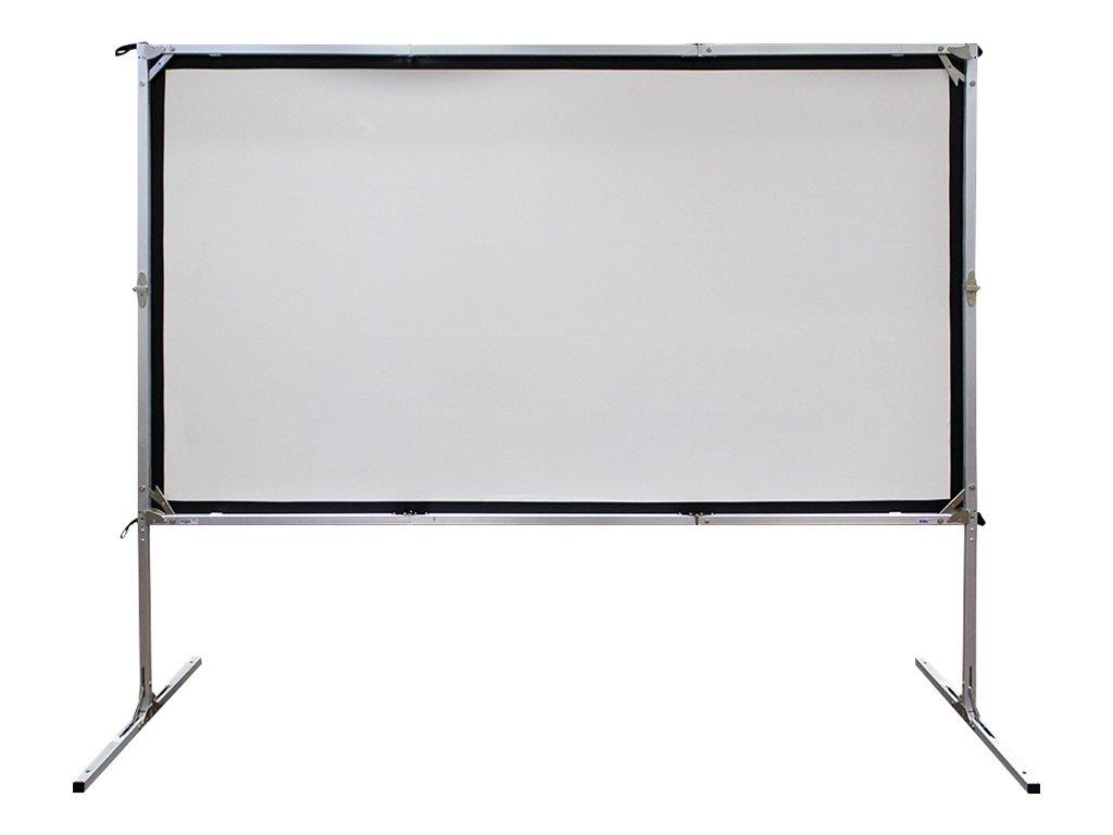 """Elite Screens Yard Master 2 Series OMS180H2-DUAL - Projektionsschirm mit Beinen - 457 cm (180"""")"""