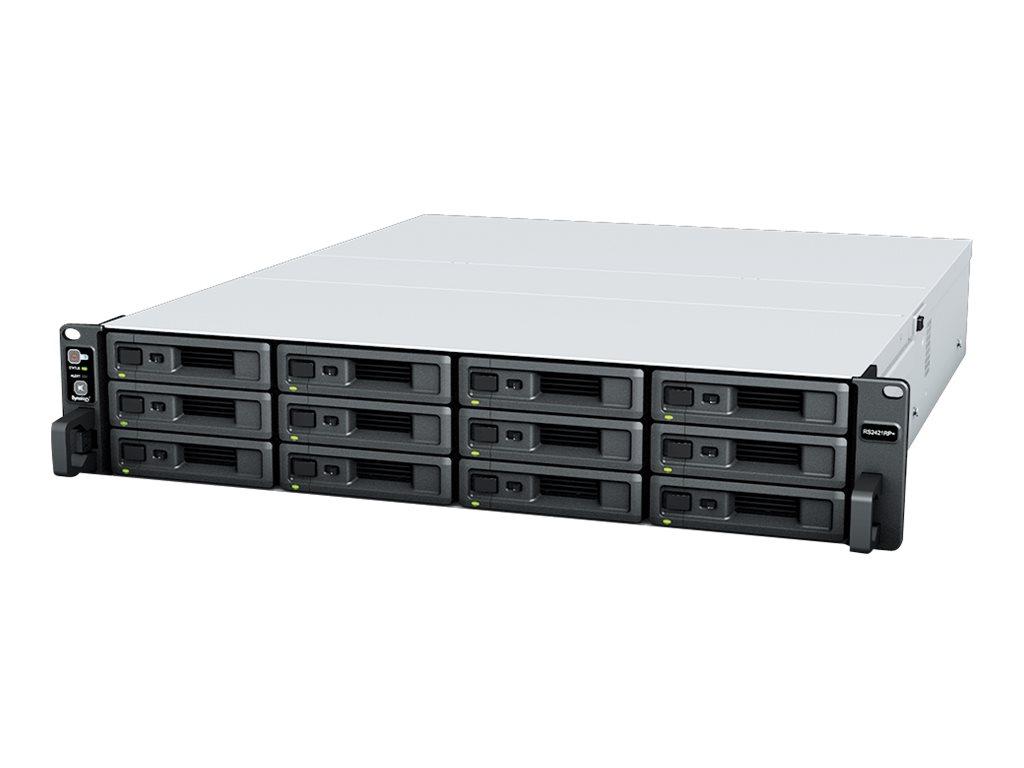 Synology RackStation RS2421+ - NAS-Server - 12 Schächte