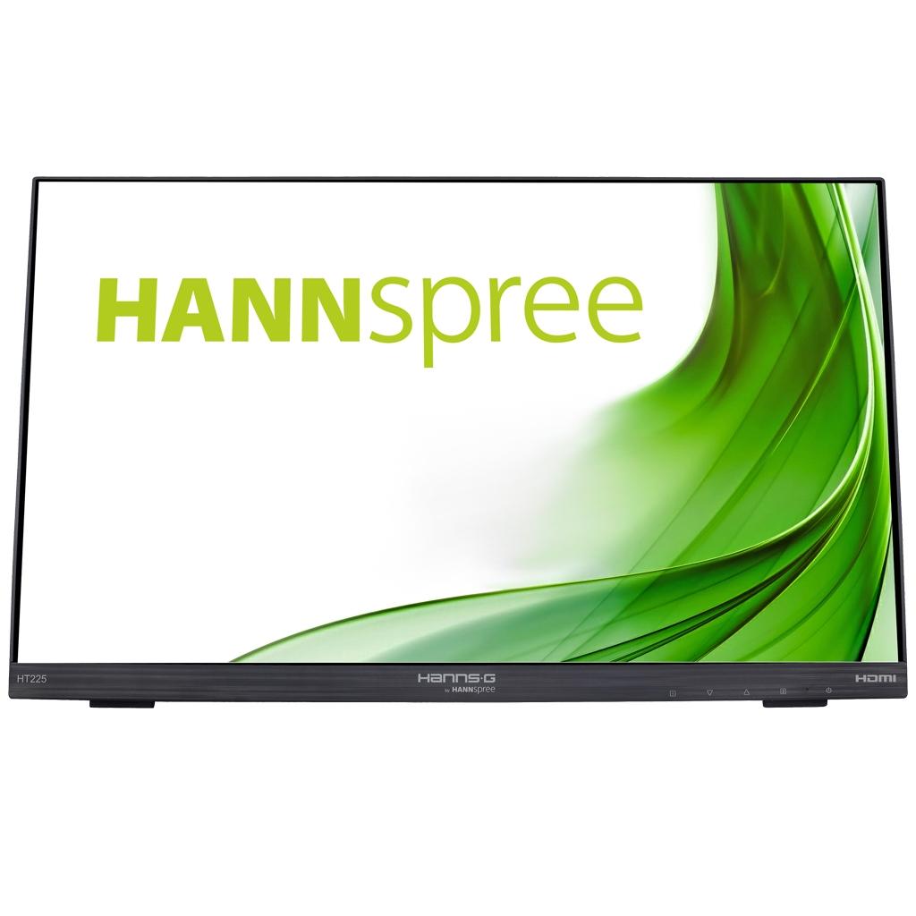 Vorschau: Hannspree HT 225 HPA 54.6 cm[21.5] 1920 x 1080 Pixel Multi-touch Nero HT225HPA touch - Flachbildschirm (TFT/LCD) - 54,6 cm