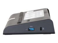 Universal USB 3.0 DV2K Docking Station mit Ladegerät