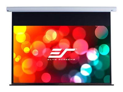 """Elite Screens Saker Series SK100XHW-E12 - Leinwand - Deckenmontage möglich, geeignet für Wandmontage - motorisiert - 230 V - 254 cm (100"""")"""
