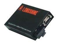 Longshine LCS-C834SC-30 - Medienkonverter - 100Mb LAN, RS-232, RS-422, RS-485 - Serial RS-232, seriell RS-422, serielles RS-485, 100Base-FX - D-Sub (DB-9)