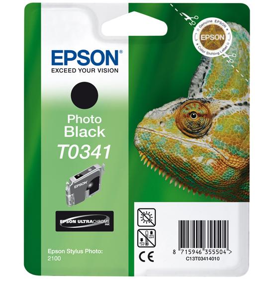 Epson T0341 - Druckerpatrone - 1 x pigmentiertes Schwarz