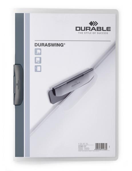 Durable DURASWING - A4 - Polypropylen (PP) - Graphit - 30 Blätter - 1 Stück(e)
