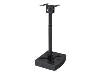 Beamer-Deckenhalterung - Zimmerdecke - 15 kg - Schwarz - 580 - 830 mm - 360° - 360°