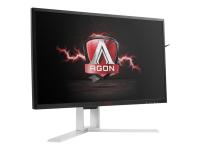 Gaming AG241QX - 60,5 cm (23.8 Zoll) - 2560 x 1440 Pixel - Quad HD - LED - 1 ms - Schwarz - Rot