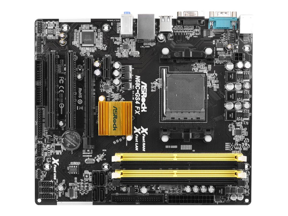 ASRock N68C-GS4 FX - Motherboard