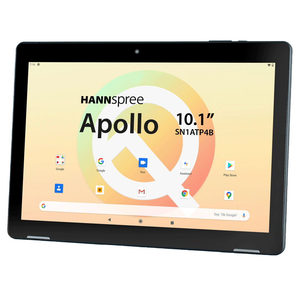 "Hannspree Pad Apollo - Tablet - Android 10 - 32 GB - 25.7 cm (10.1"")"