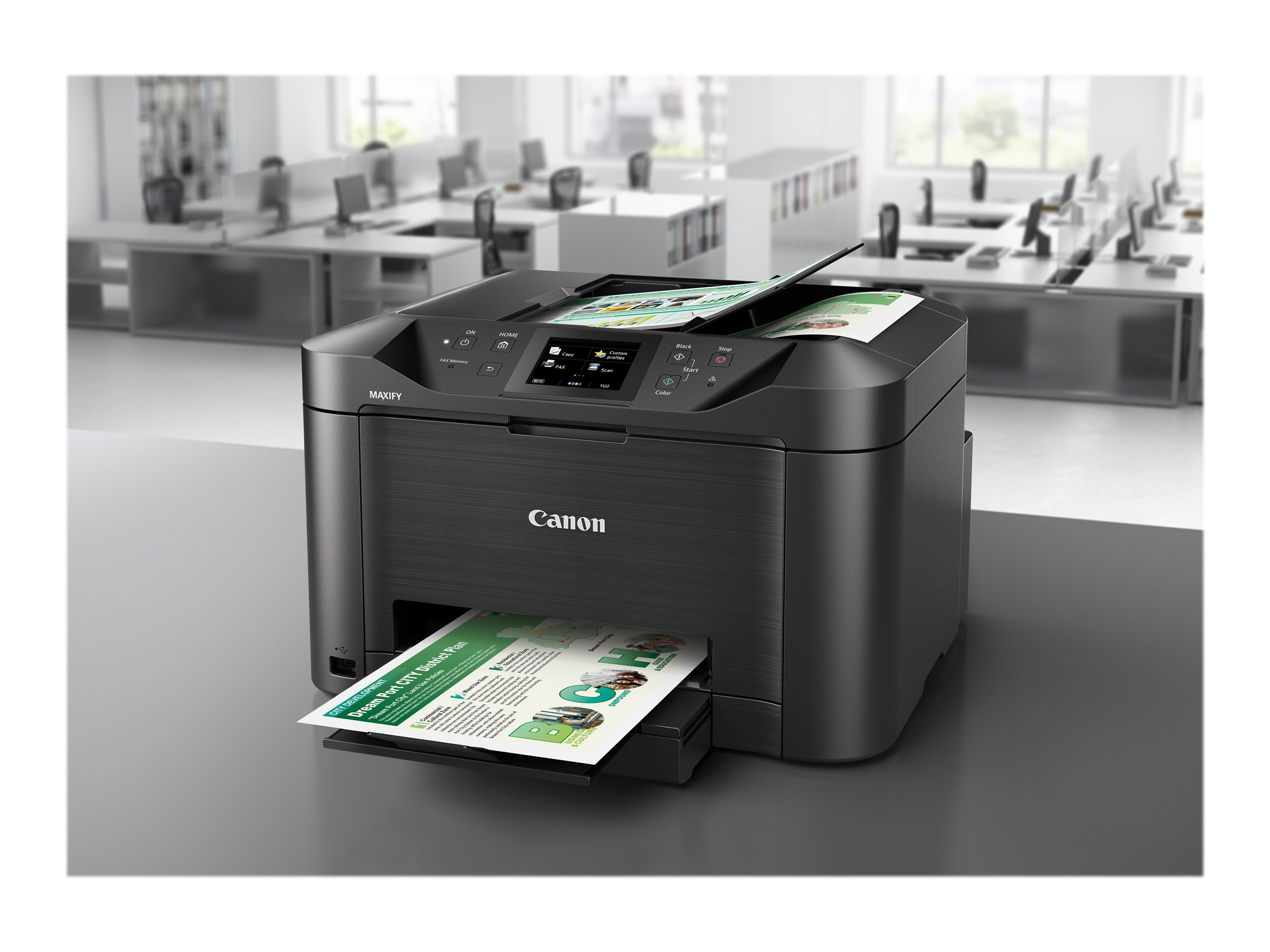 Canon MAXIFY MB5155 - Multifunktionsdrucker - Farbe - Tintenstrahl - A4 (210 x 297 mm)