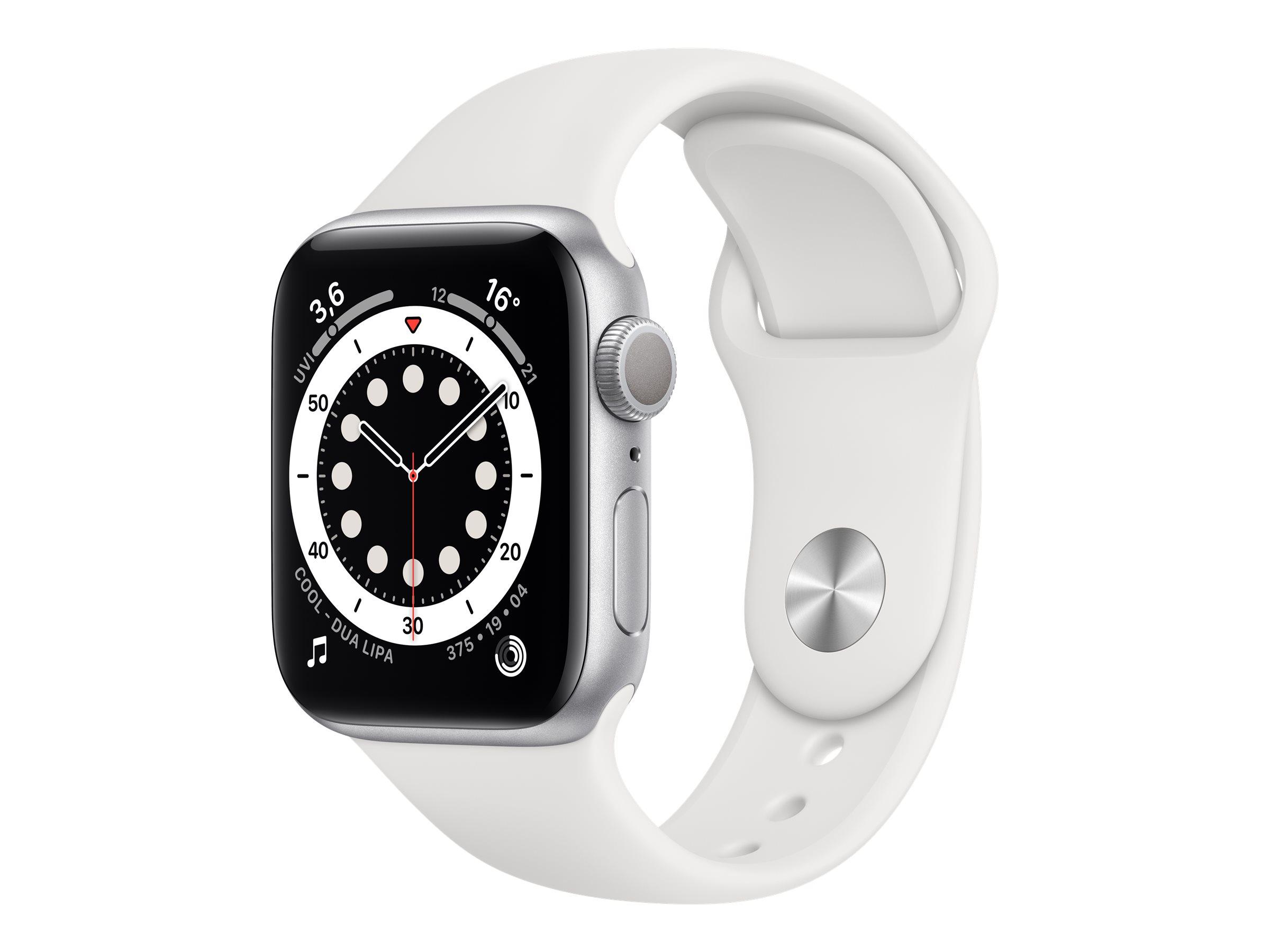 Apple Watch Series 6 (GPS) - 40 mm - Aluminium, Silber