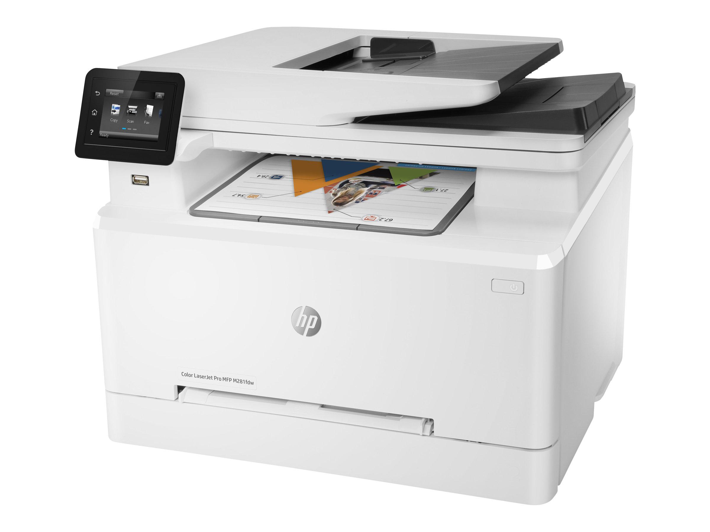 HP Color LaserJet Pro MFP M281fdw, Farblaser, MFP, A4