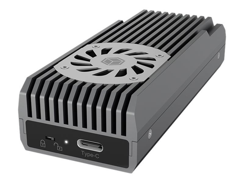 ICY BOX ICY BOX IB-1922MF-C32 - Speichergehäuse - M.2 - M.2 NVMe Card / PCIe 3.0 (NVMe)