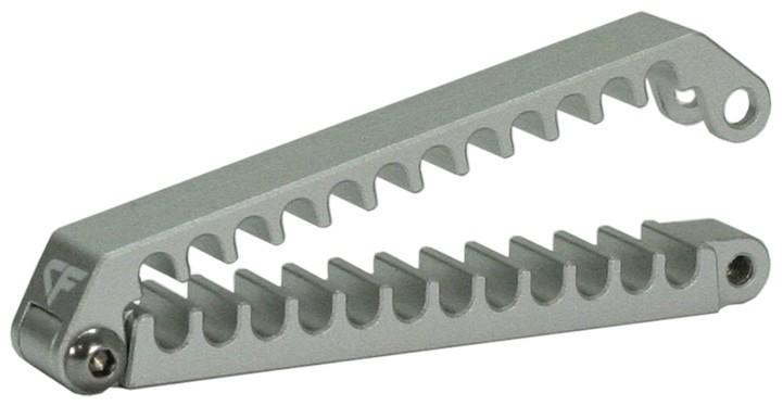 Nanoxia NXCC600-24 - Silber - Aluminium