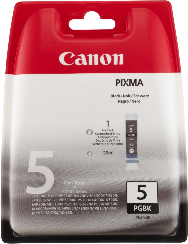 Canon PGI-5BK Schwarz Tintenpatrone