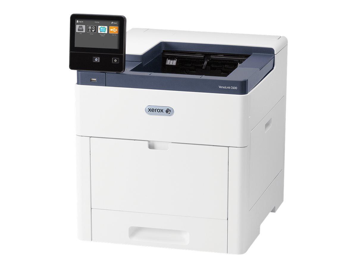 Xerox VersaLink C600V/N - Drucker - Farbe - LED - A4/Legal - 1200 x 2400 dpi - bis zu 53 Seiten/Min. (einfarbig)/