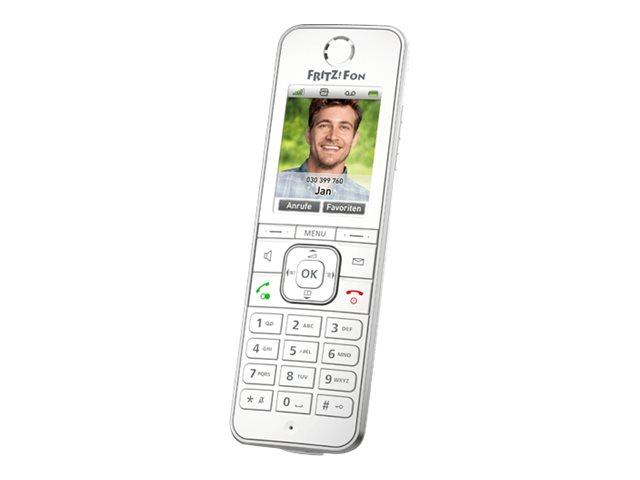 AVM FRITZ!Fon C6 - Schnurloses VoIP-Telefon - mit Internetradio mit Rufnummernanzeige