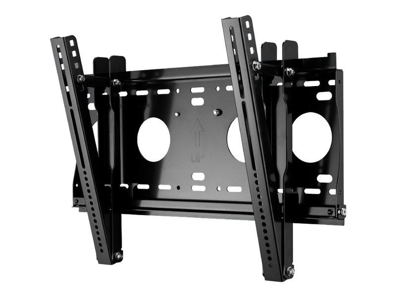 AG Neovo LMK-02 - Wandhalterung für LCD-Display - Stahl - Schwarz - Bildschirmgröße: von 81,3 cm (von 32 Zoll)