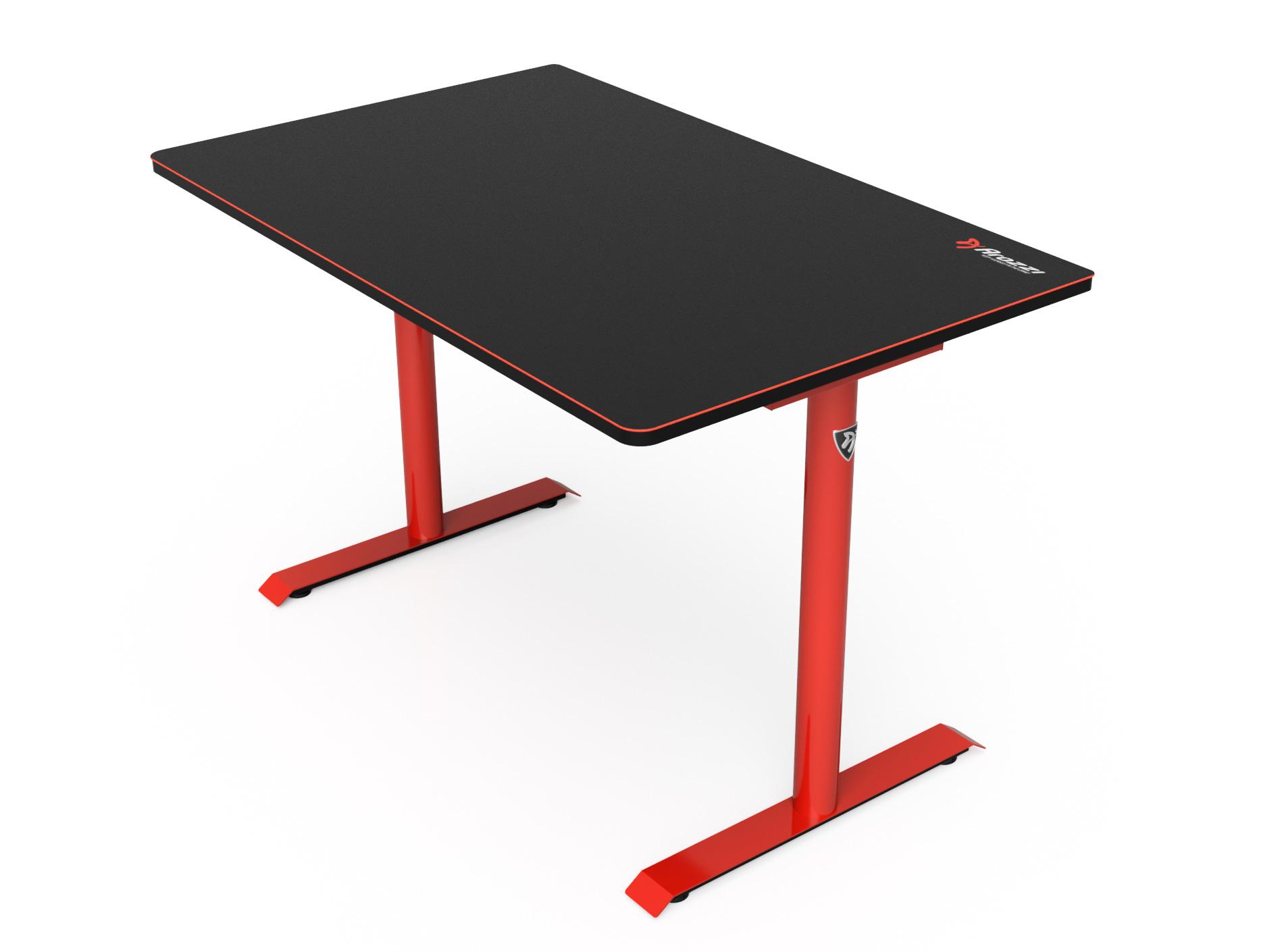 Arozzi Arena Leggero - Gerade - Rechteckige Form - MDF-Platten - Stahl - Mikrofaser - Rot