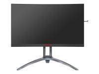 AG273QCX - 68,6 cm (27 Zoll) - 2560 x 1440 Pixel - Wide Quad HD - LED - 1 ms - Schwarz - Rot - Silber