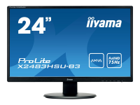 ProLite X2483HSU-B3 23.8Zoll Full HD A-MVA Matt Schwarz Computerbildschirm LED display