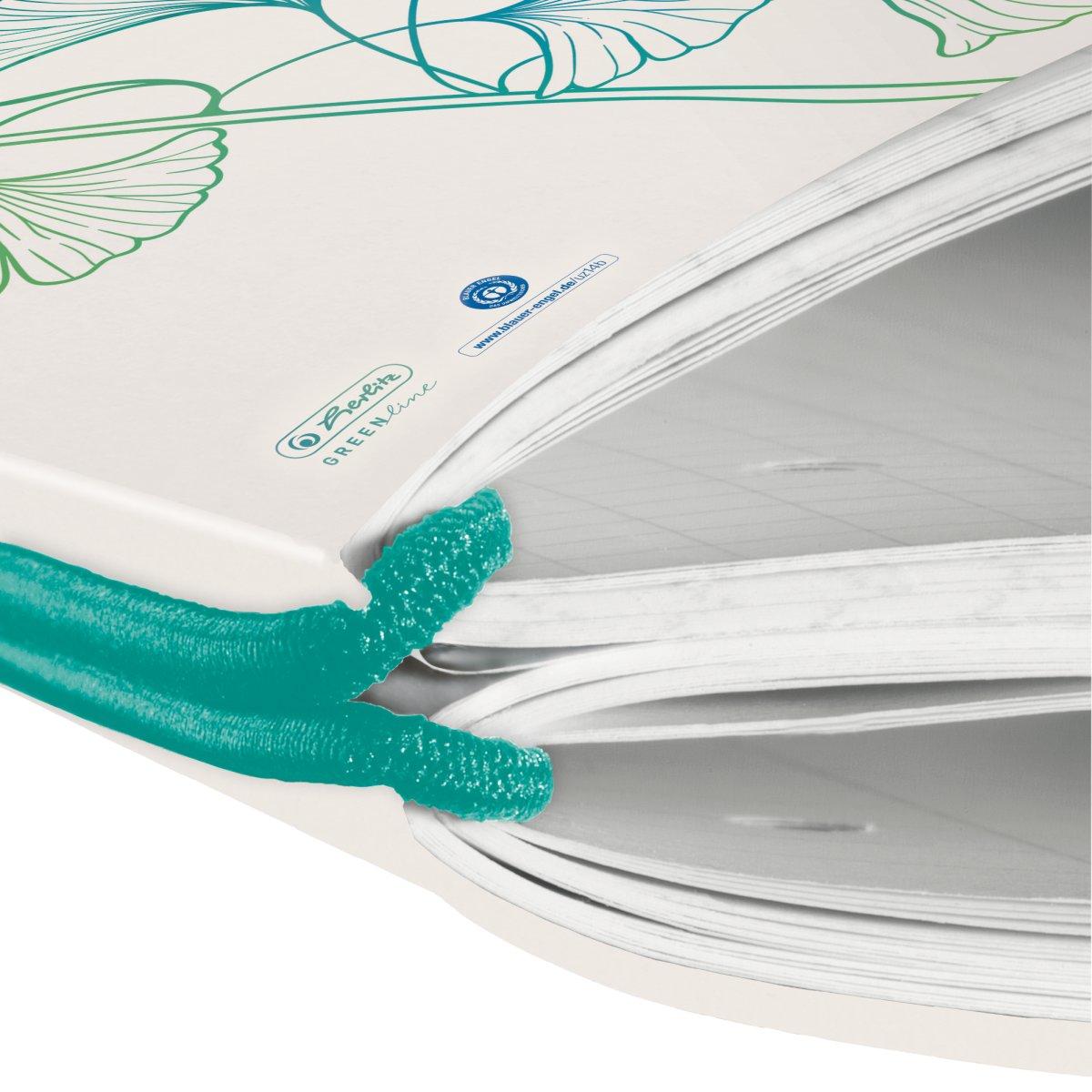 Herlitz my.book flex - Muster - Weiß - A4 - 80 Blätter - Erwachsener