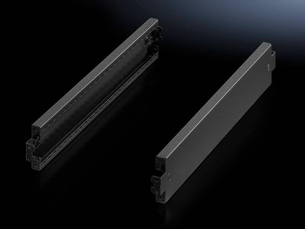 Rittal VX - Rackbasis/-sockel - RAL 9005 (Packung mit 2)