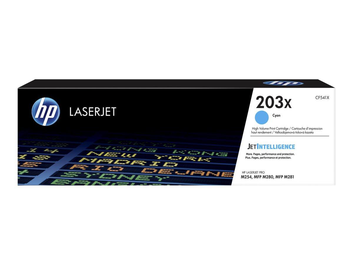 HP Toner cyan Nr. 203X (CF541X) ca. 2.500 Seiten