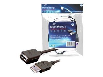 MEDIARANGE USB-Verlängerungskabel - USB (M)