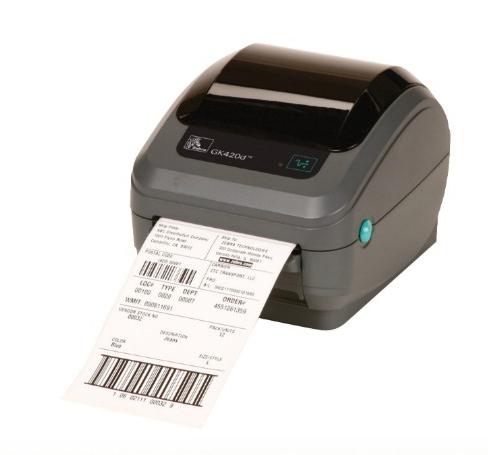 Zebra GK Series GK420d - Etikettendrucker - Thermopapier - Rolle (10,8 cm)
